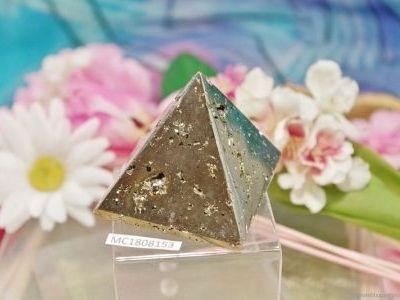 Pyramide en Pyrite