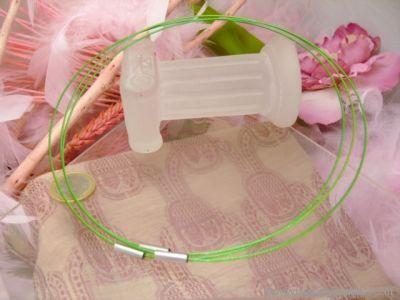 Câble rigide vert