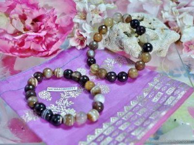 Bracelet Agate Cornaline