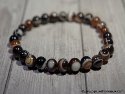 Bracelet Agate Oeil de BOUDDHA