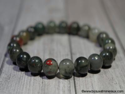 Bracelet Jaspe Sanguin