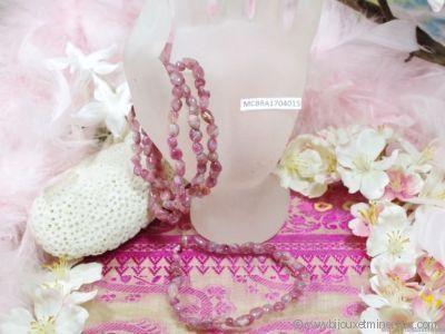 Bracelet Tourmaline Rose