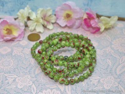 Bracelet Zoïsite Rubis