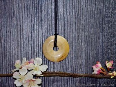 Donuts Bois Fossilisé 50 mm