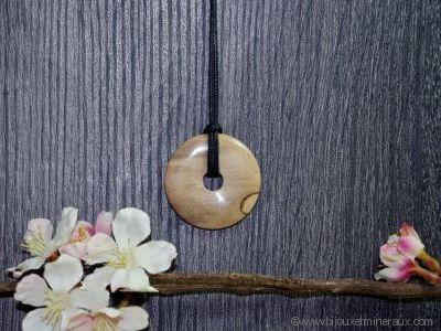 Donuts Bois Fossilisé 40 mm