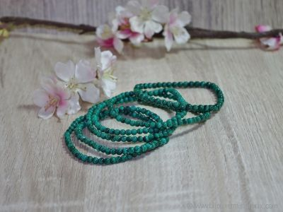 Bracelet Malachite Véritable