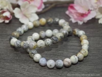 Bracelet Agate Dendritique