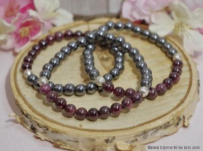 Bracelet Litho - Bracelet Énergie Vitalité