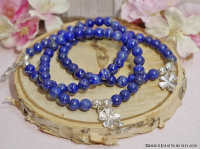 Bracelet Lapis lazuli Porte Bonheur