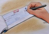 3) Paiement par CHÈQUE avec un montant MAXI limité