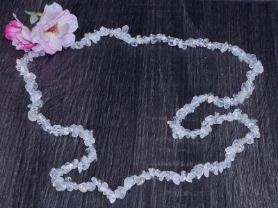 Collier Cristal de Roche - 90 cm