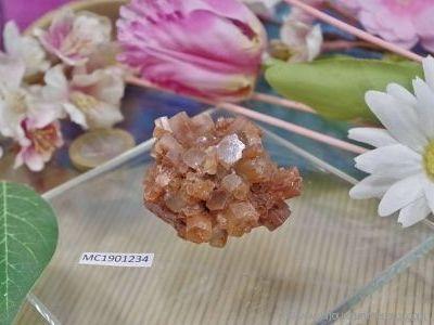 Aragonite cristallisée