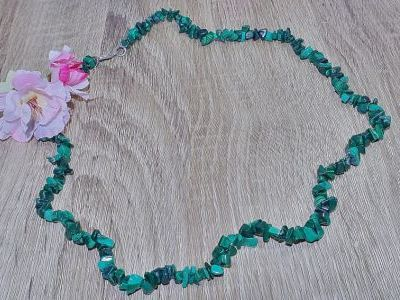Collier Malachite - 60 cm
