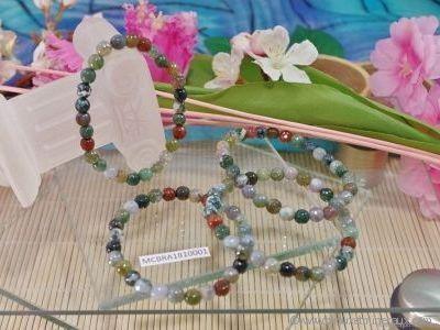 Bracelet Agate Indienne Facetté