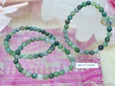Bracelet Agate Mousse