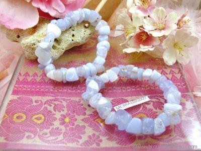 Bracelet Calcédoine