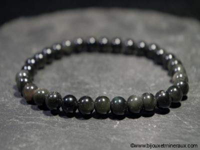 Bracelet Obsidienne Oeil Céleste