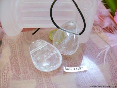 Pendentif Cristal de roche - Taille XL