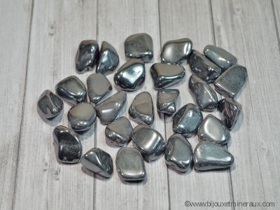 Galets de Hématite - De 8 à 12 gr environ