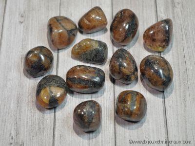 Galets de Chiastolite - De 5 à 10 gr environ