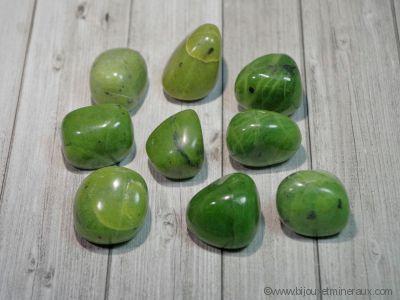 Galets de Jade Néphrite - De 9 à 13 gr environ