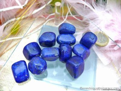 Galets de Lapis Lazuli - De 6 à 9 gr environ