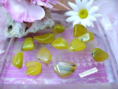Galets d'Opale Verte - De 2 à 4 gr environ