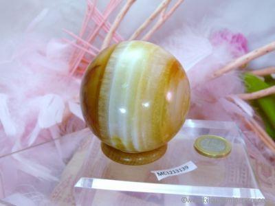 Sphère Cornaline