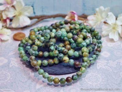 Bracelet Turquoise d'Afrique du Sud