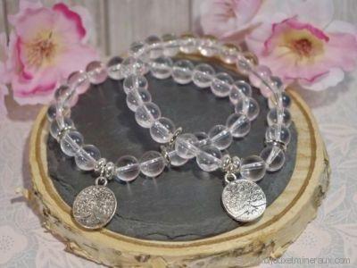 Bracelet Cristal de Roche Arbre de Vie