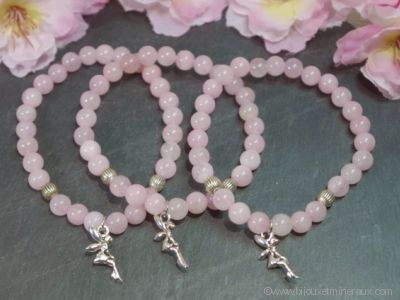 Bracelet Quartz Rose Petite Fée