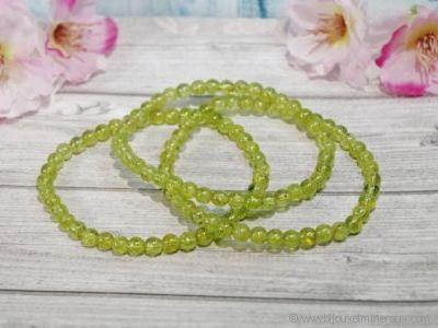 Bracelet Péridot ou Olivine