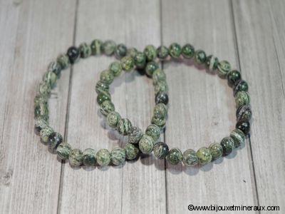 Bracelet Serpentine Oeil d'argent