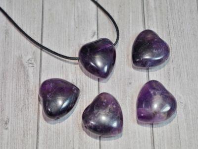 Pendentif Fluorite violette