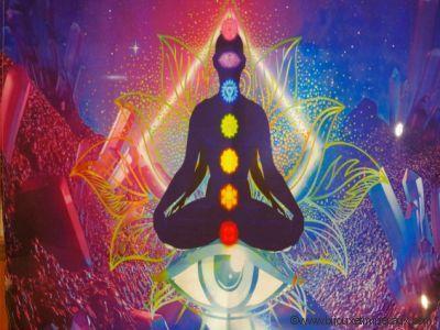Tenture Lotus et Chakra