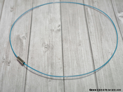 Câble rigide bleu