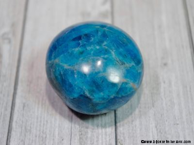 Galet Apatite bleue