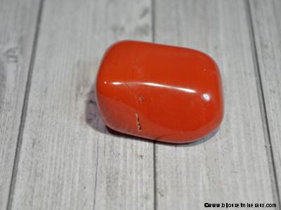 Galet Jaspe rouge